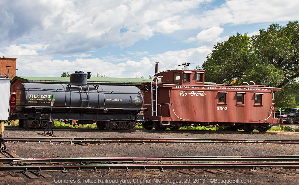 Tanker and Caboose