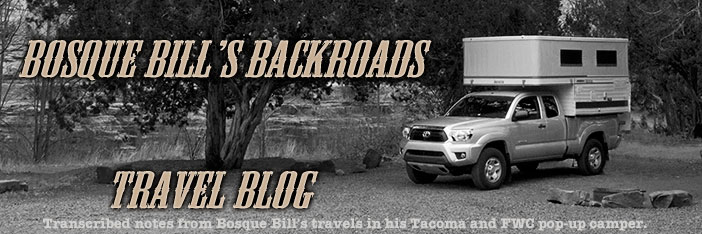 Visit BosqueBill's Backroads Travel Blog
