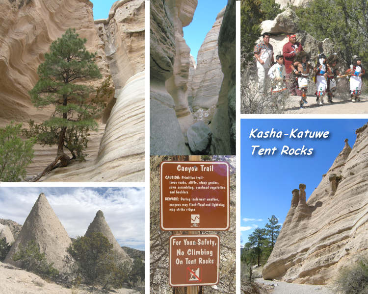 Kasha-Katuwe Tent Rocks, New Mexico