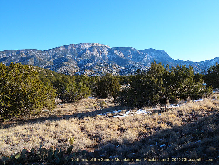 Sandias near Placitas