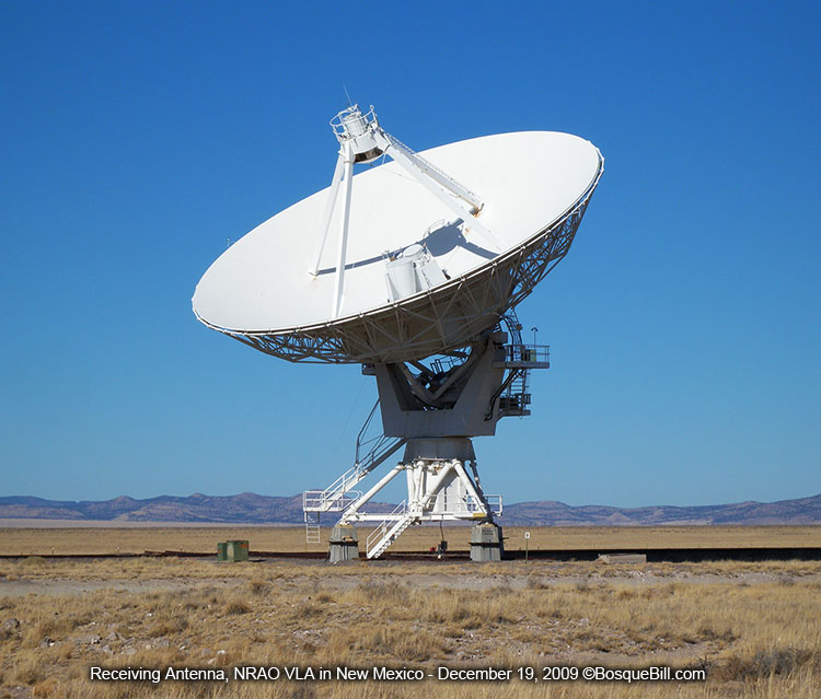 VLA Receiving Antenna