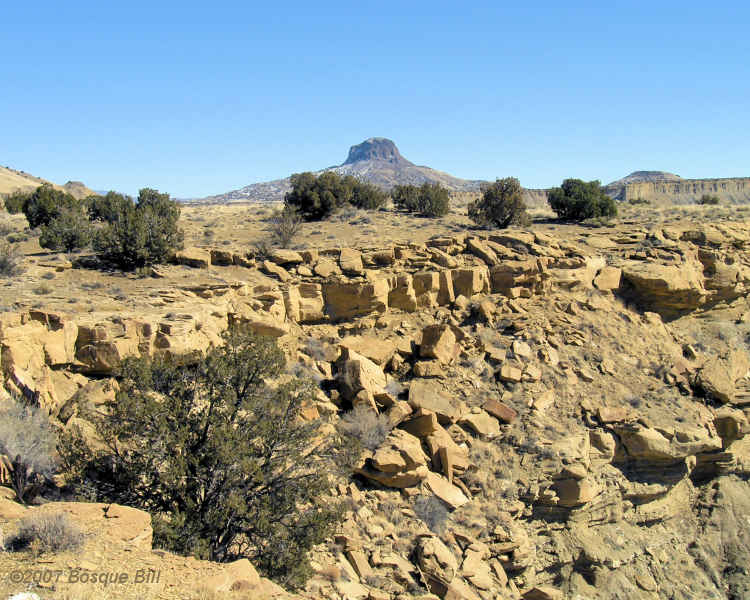 Cabezon Peak, New Mexico