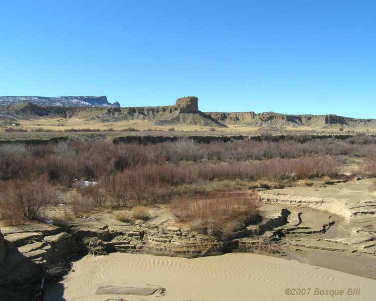 Stark Beauty of BLM lands near Cabezon Peak, New Mexico